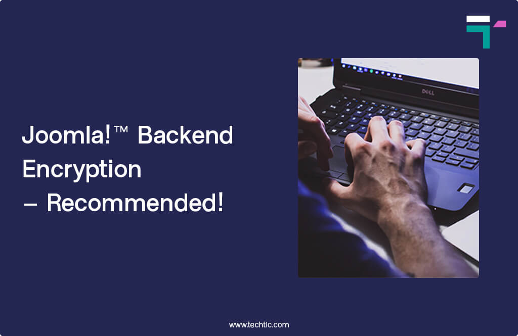 Joomla! Backend Encryption – Recommended