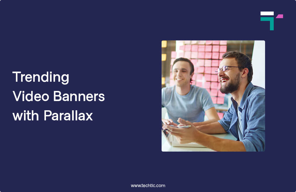 Trending Video Banners with Parallax