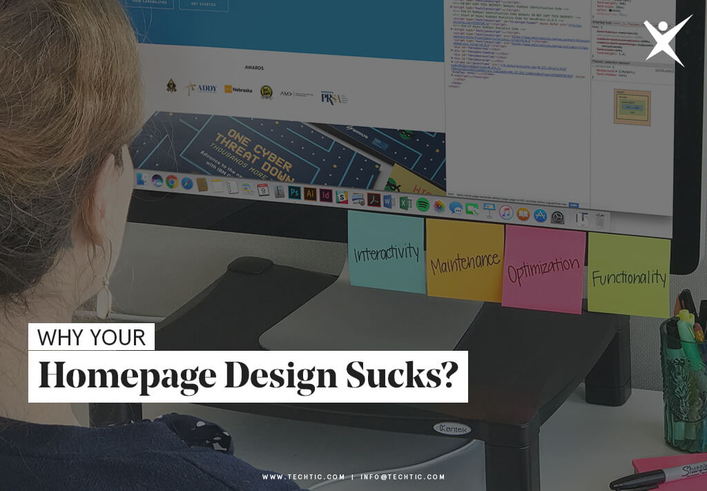 Why Your Homepage Design Sucks?