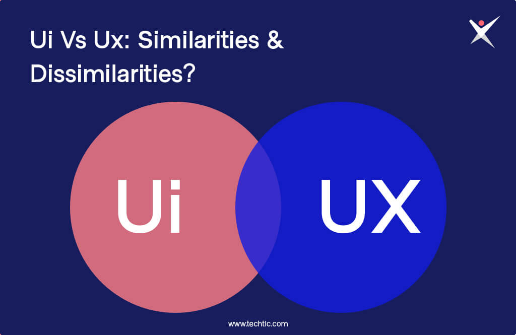 UI Vs UX-Similarities and Dissimilarities