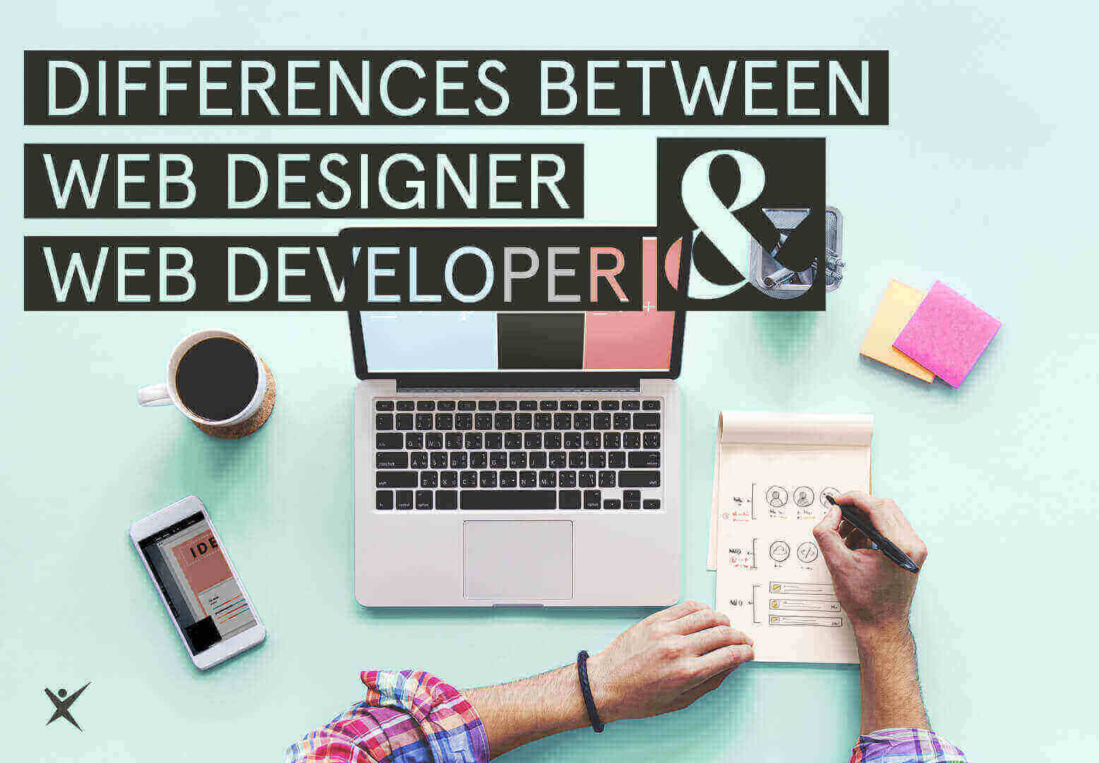 Differences Between Web Developer and Web Designer