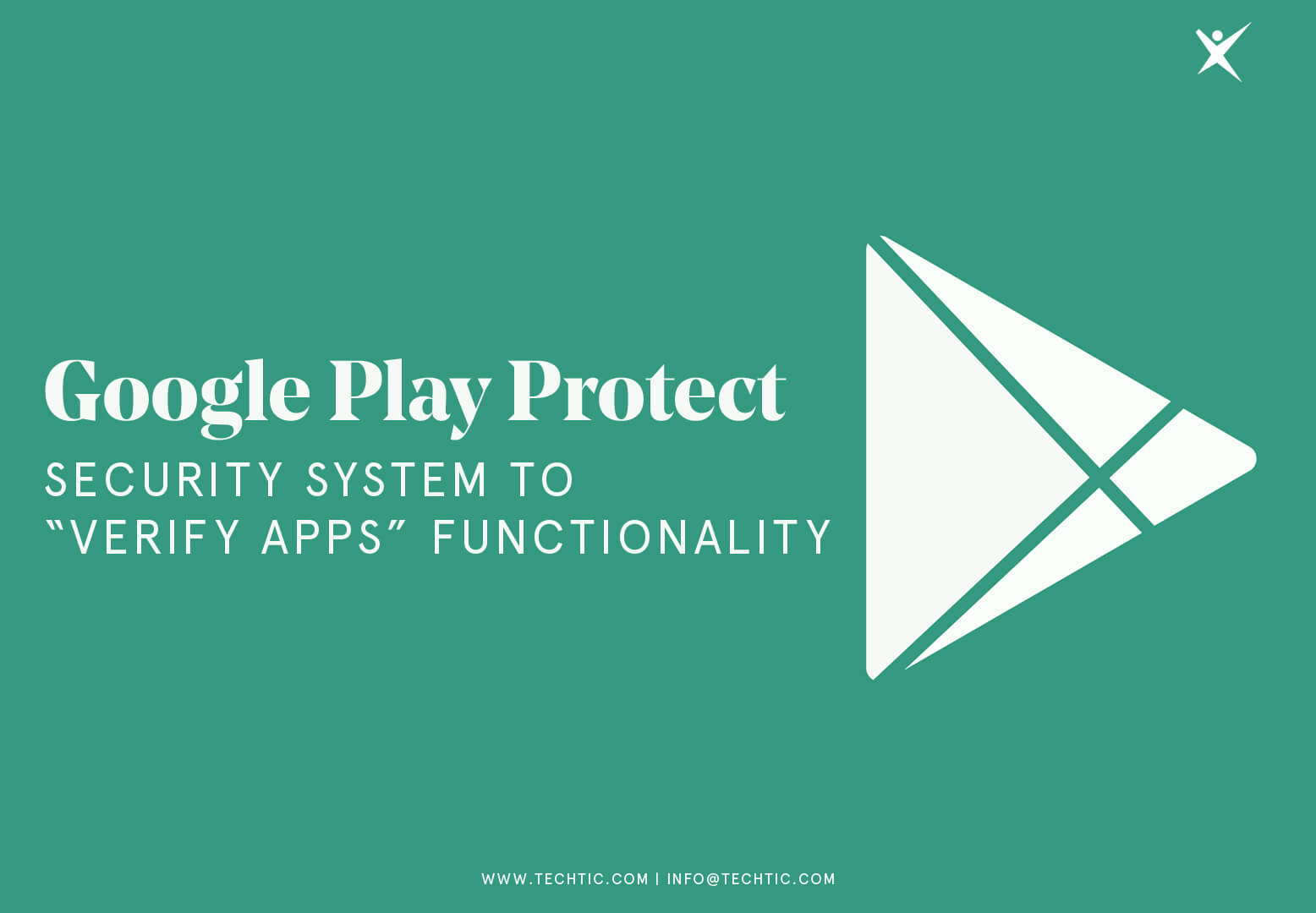 Google Play Protect- Security system to 'verify apps' Functionality