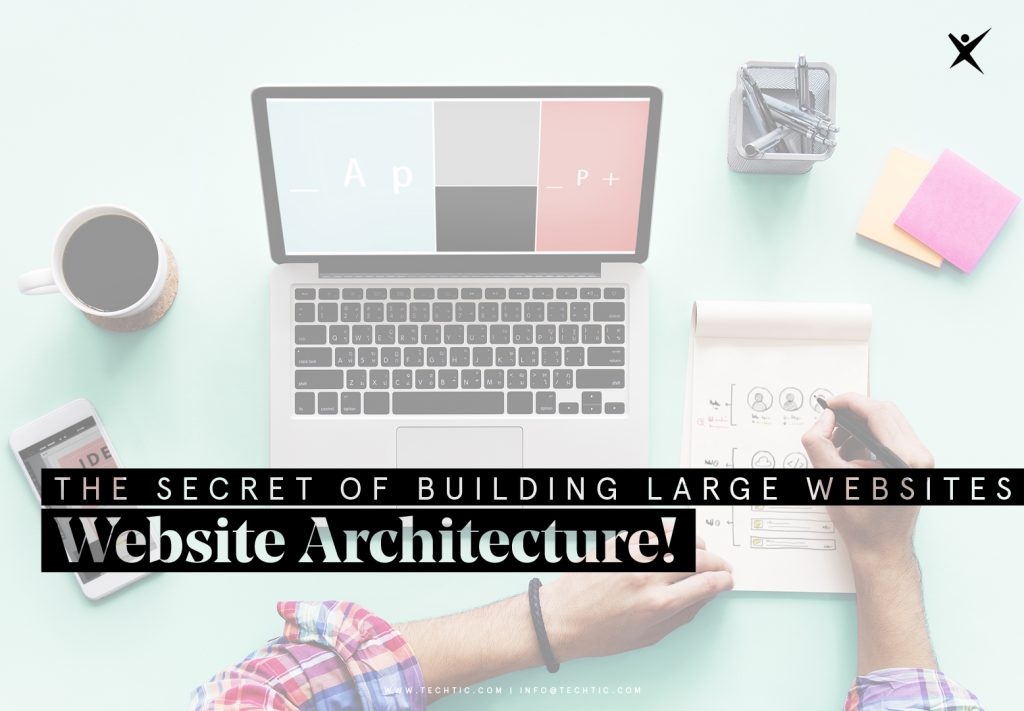 The Secret of Building Enterprise Websites - Website Architecture