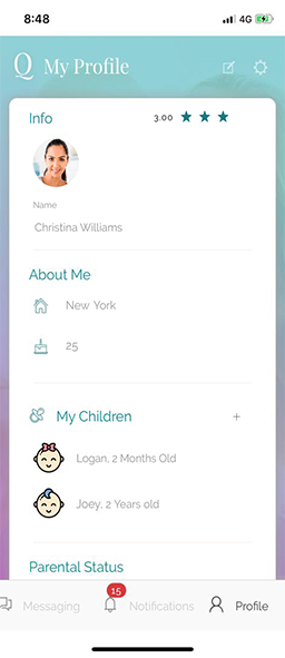 MyBabyQ's - A Parenting Mobile App Development