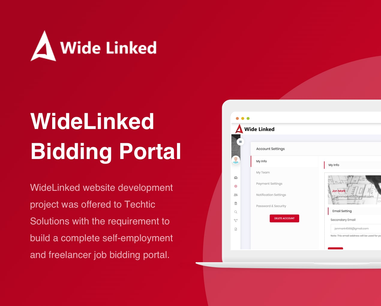 WideLinked - Freelancer Job Bidding Portal