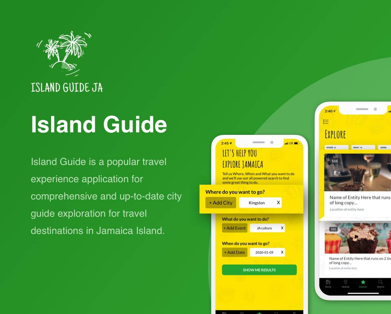 Island Guide - Travel Guide Mobile App