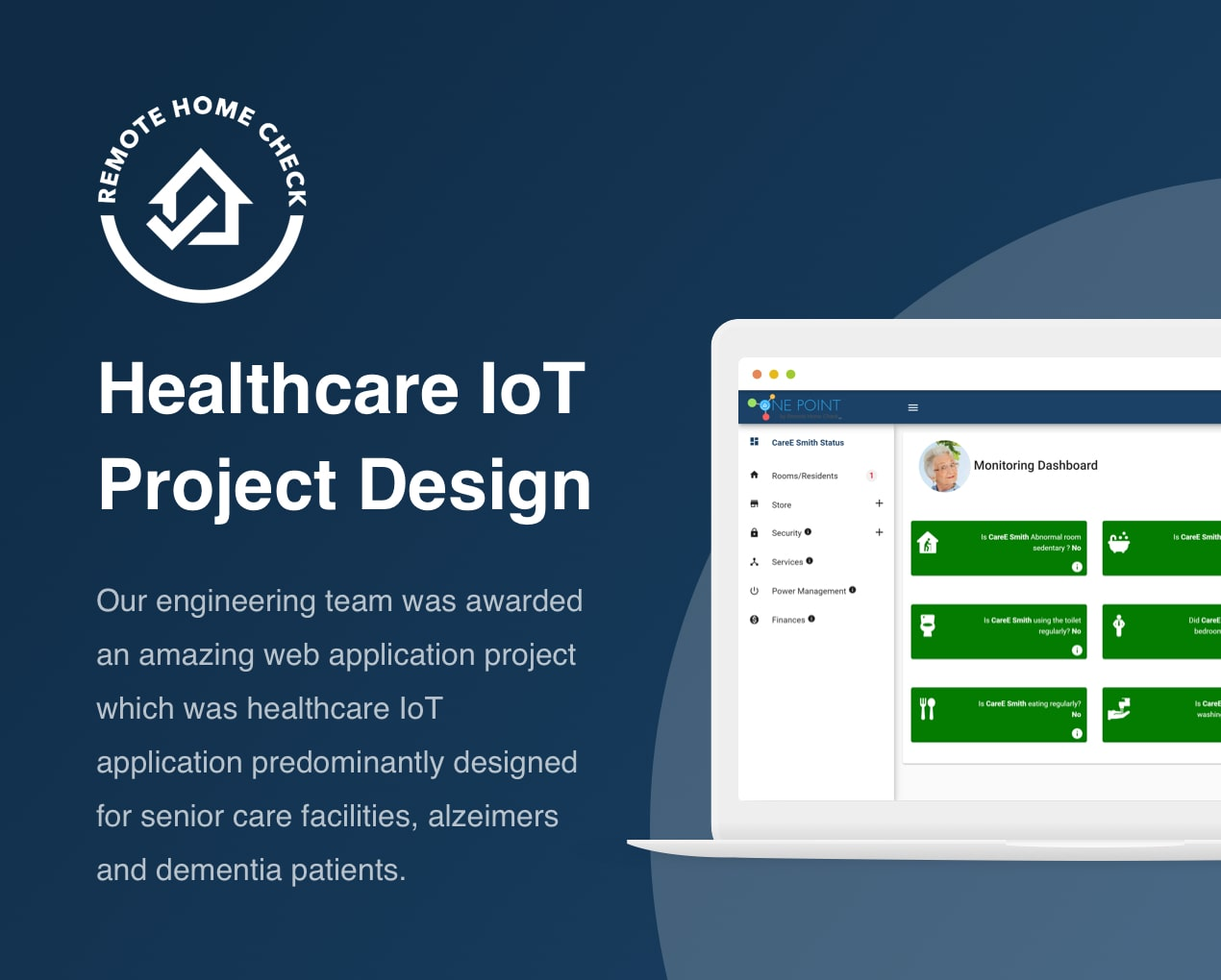 Remote Home Check - Healthcare IoT Project