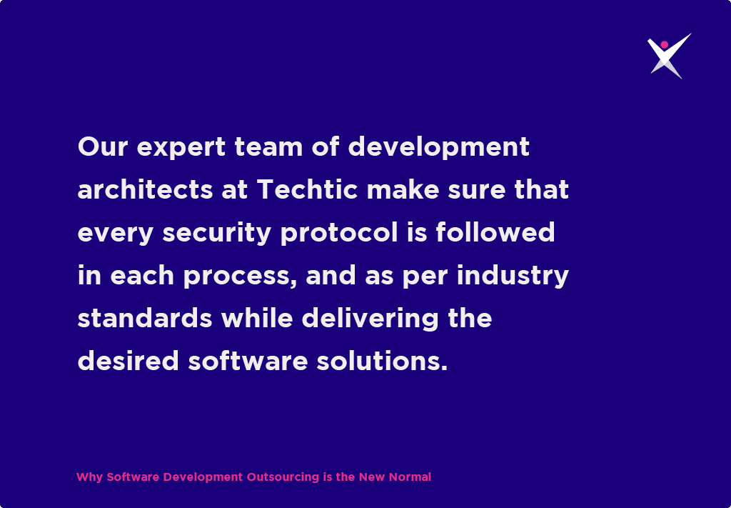 expert team of development architects at Techtic