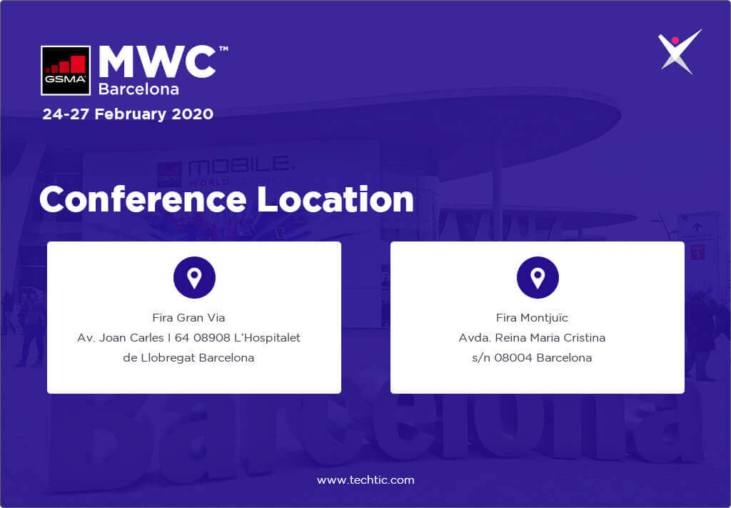 Conference Location of MWC20 Event