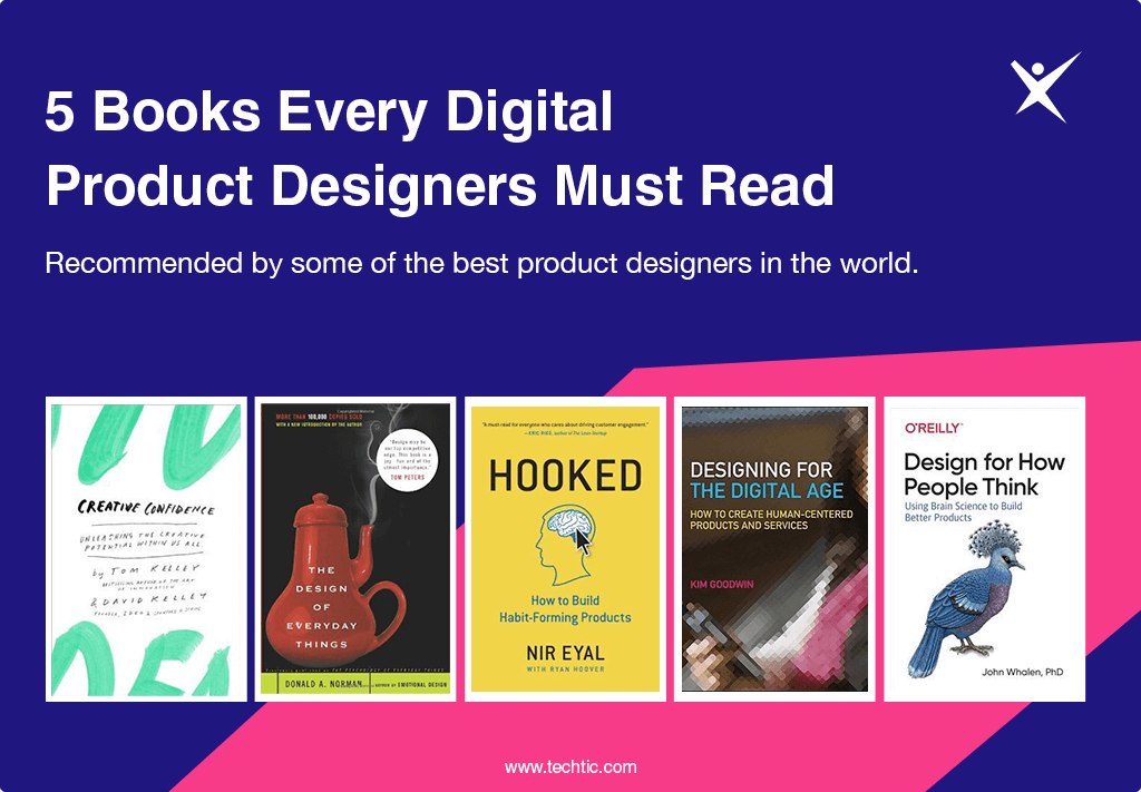 5 Books Every Digital Product Designers Must Read