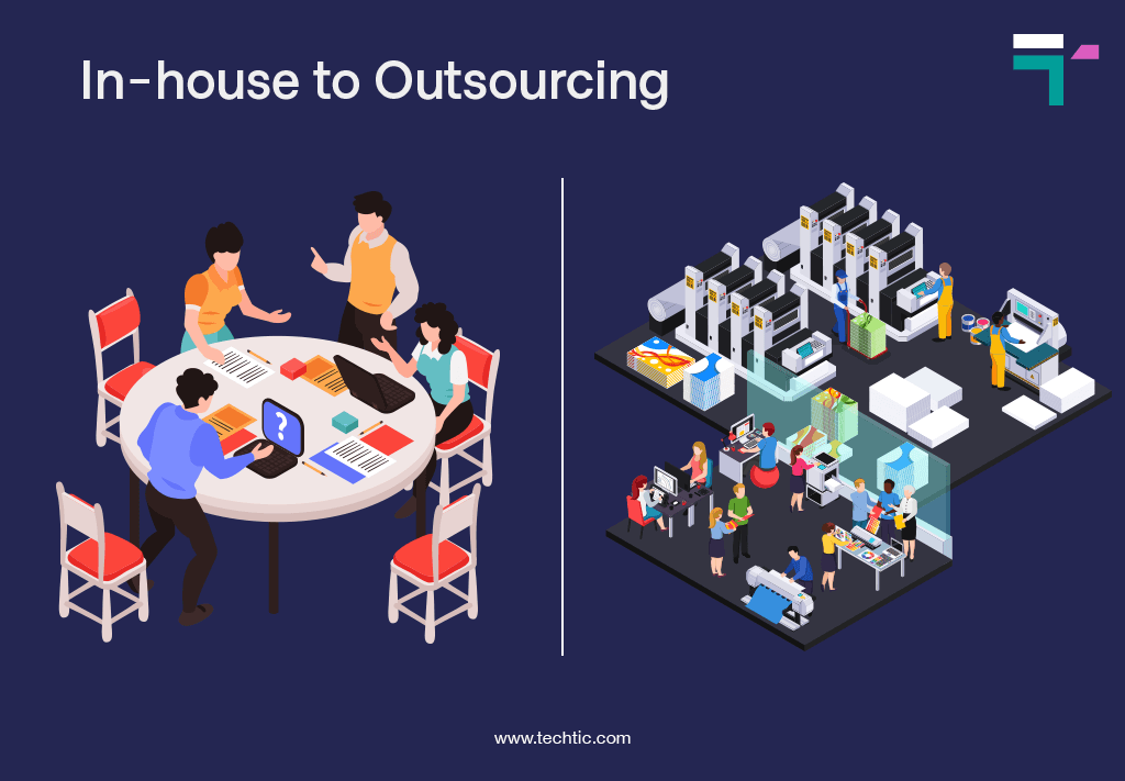 In-house to Outsourcing