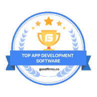 Top App Development Company by GoodFirm.co