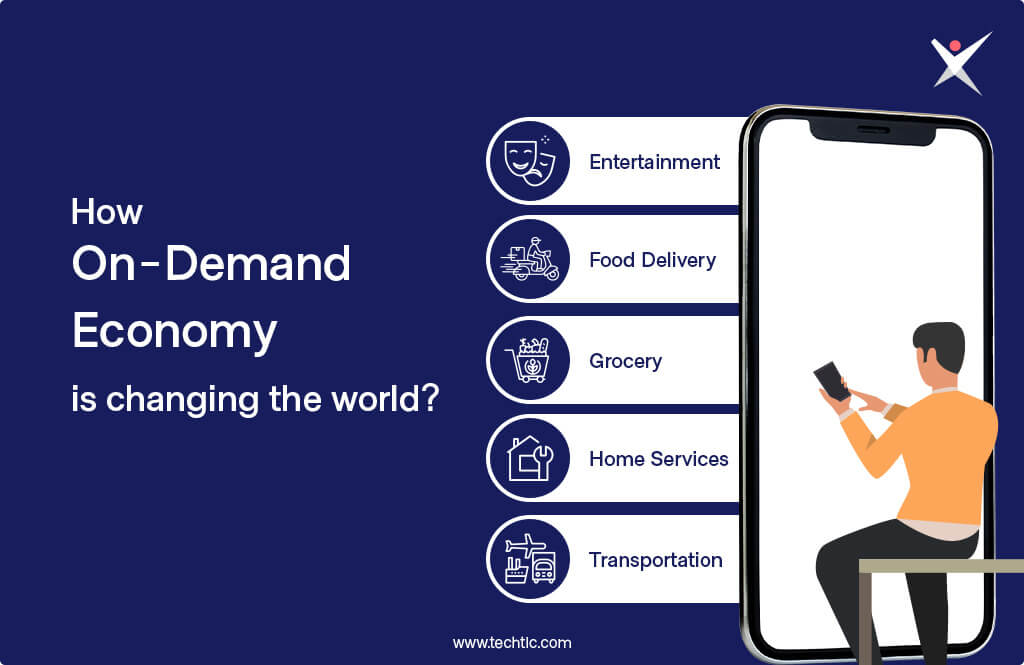 How On-demand economy is changing the world