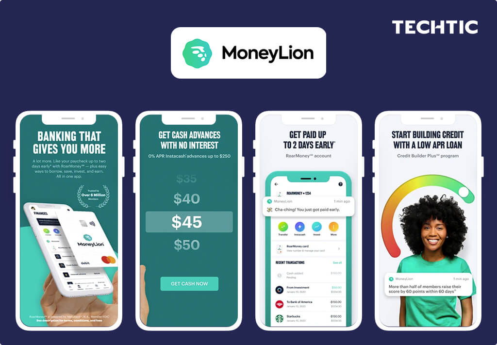 Best Fintech Apps 2021 - MoneyLion - A Mobile Banking App