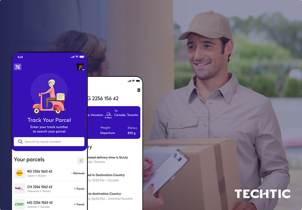 On-Demand App for Courier Delivery