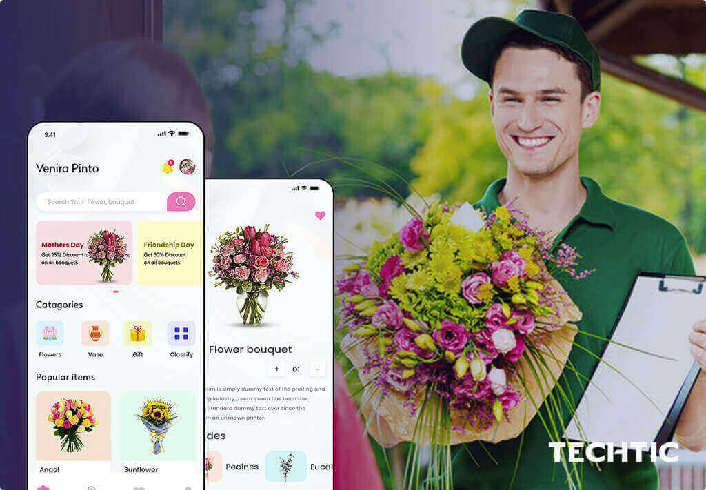 On-Demand App for Flower Delivery