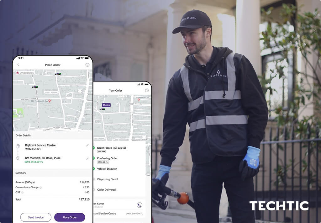 On-Demand App for Fuel Delivery