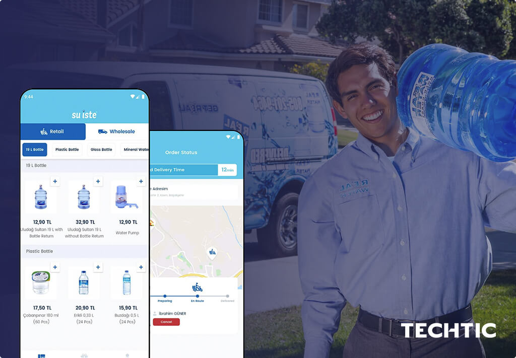 On-Demand App for Water Delivery